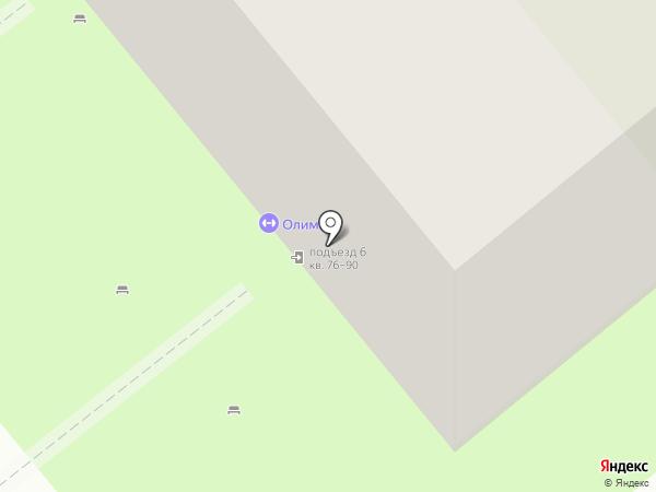 Олимпия на карте Липецка