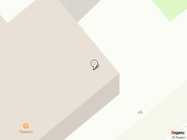 Магазин комнатных цветов и открыток на карте Липецка
