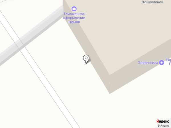 ЕТРУ на карте Липецка
