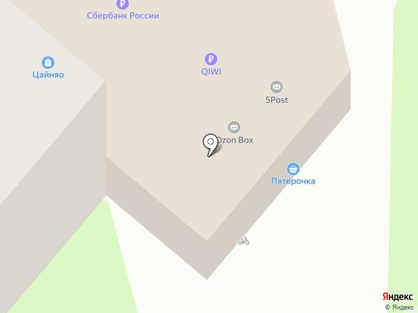 Виктория-Регион на карте Липецка