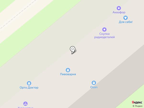Филипок на карте Липецка