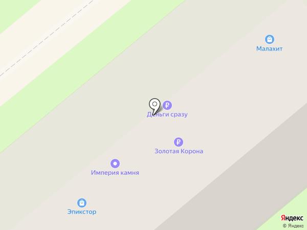 Ортоника на карте Липецка