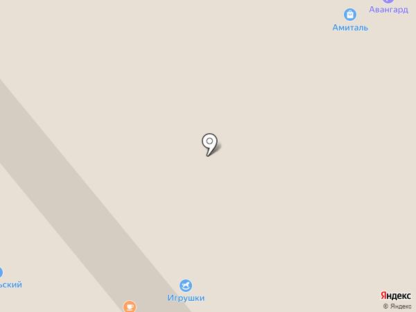 РЕТ на карте Липецка