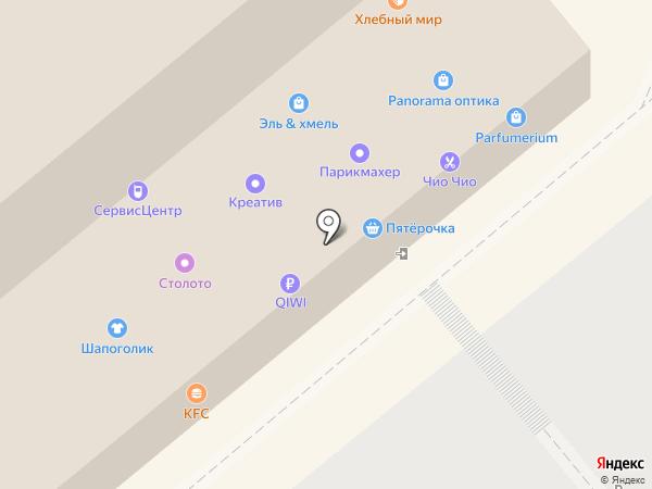 Yota на карте Липецка