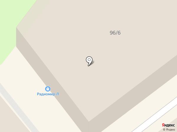 Колорит на карте Липецка