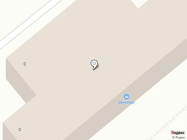 Шинторг на карте Липецка