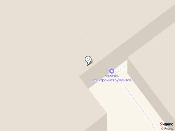 Магазин лакокрасочных материалов на карте Липецка