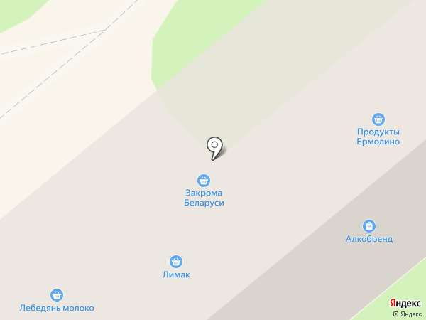 Нижний трикотаж на карте Липецка