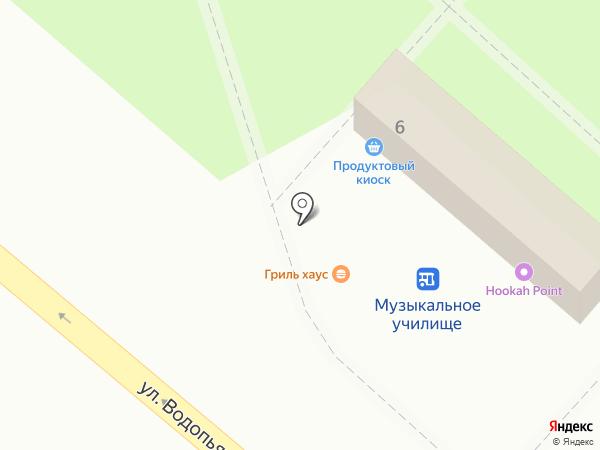 Cibo на карте Липецка