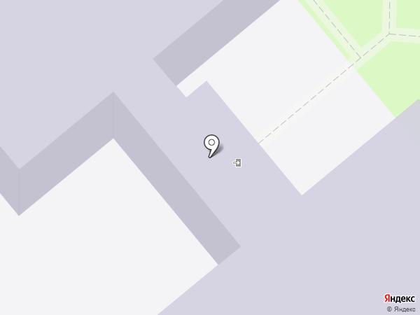 Юниор на карте Липецка