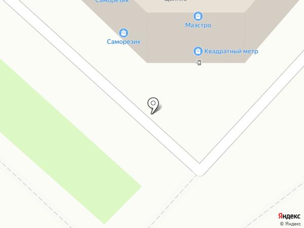 Инструмент клуб на карте Липецка