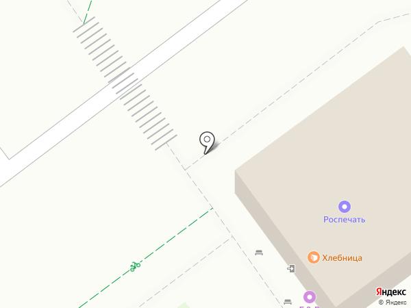 Киоск по продаже кондитерских изделий на карте Липецка
