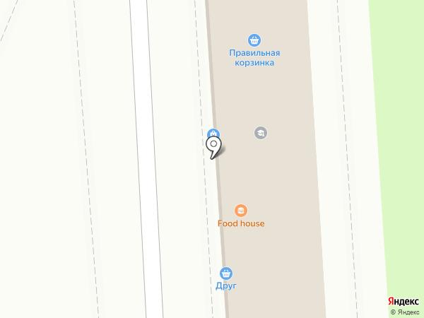 Табачонок на карте Липецка