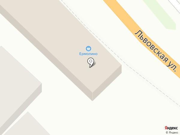 Ермолино на карте Сочи