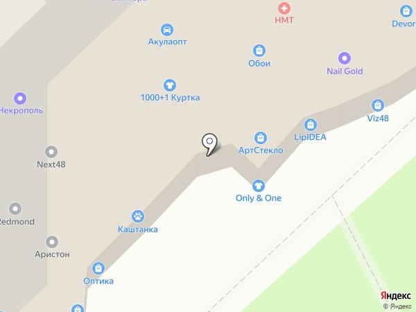 Трастинвест на карте Липецка