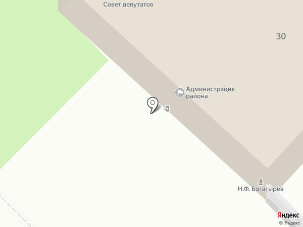 Единая дежурная диспетчерская служба Липецкого муниципального района, МКУ на карте Липецка