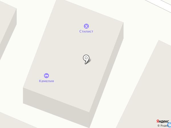Камелия на карте Сочи