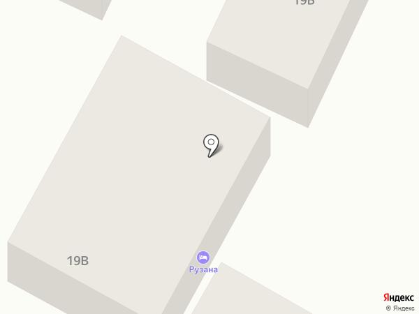 Рузана на карте Сочи