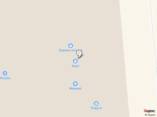 Молочный дворик на карте Липецка
