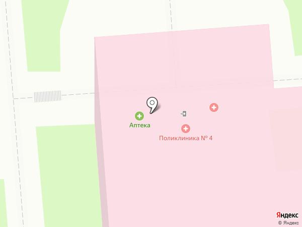 Сонет на карте Липецка