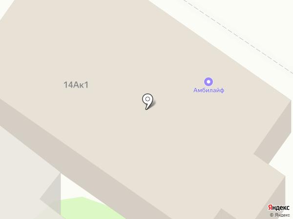 Строй-Град на карте Липецка