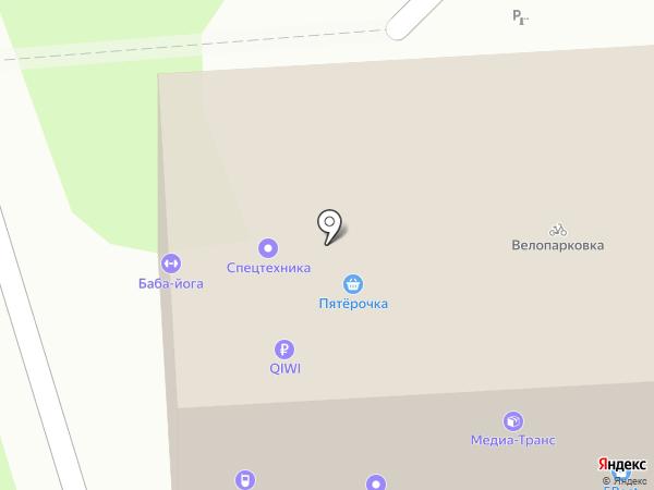 Центр компьютерной поддержки на карте Липецка