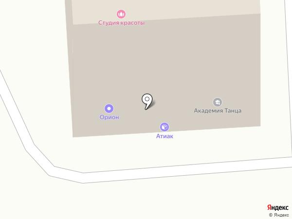 АТИАК-ГРУПП на карте Липецка
