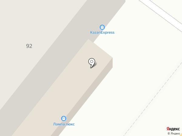 Марсель на карте Липецка