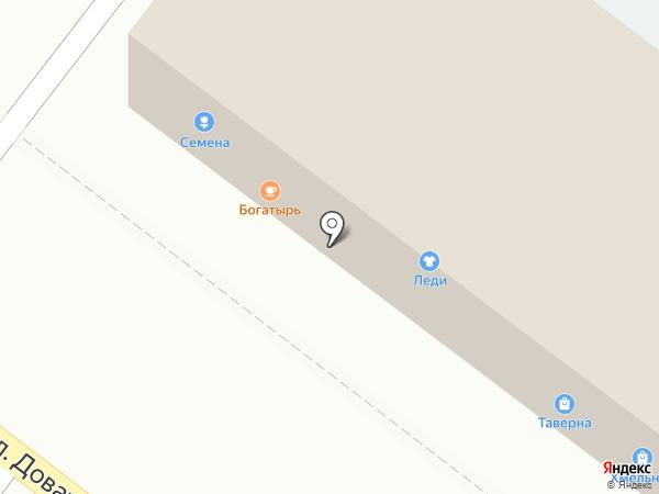 Ермолино на карте Липецка