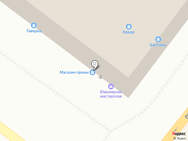 Мишка Топтыжка на карте Липецка