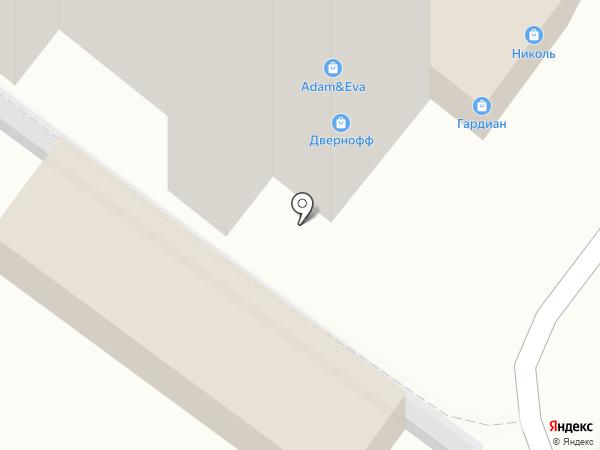 Салон дверей на карте Липецка
