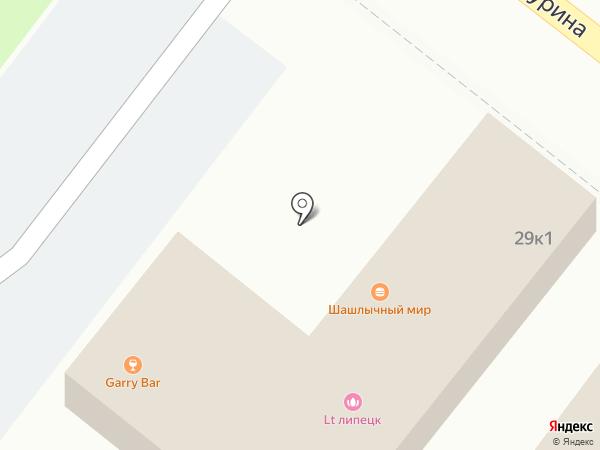 Шашлычный мир на карте Липецка