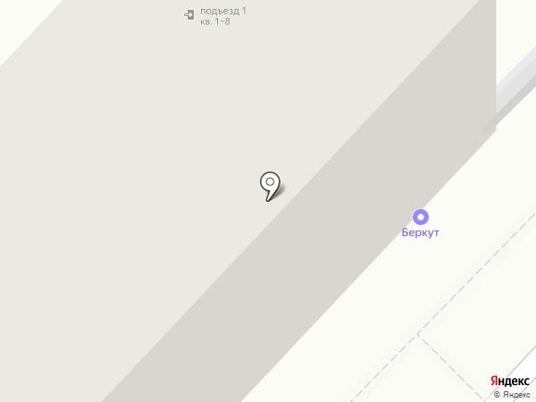 Миля на карте Липецка