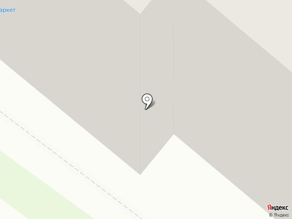 Сенсуэль на карте Липецка