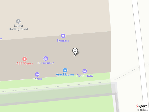 Успех бизнес групп на карте Липецка