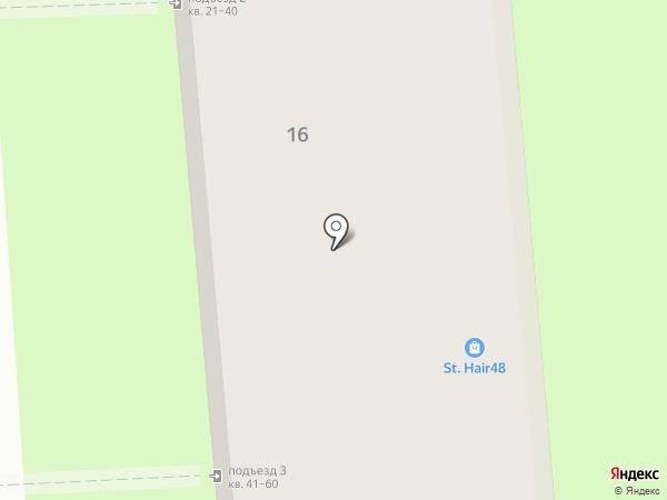 Благотур на карте Липецка