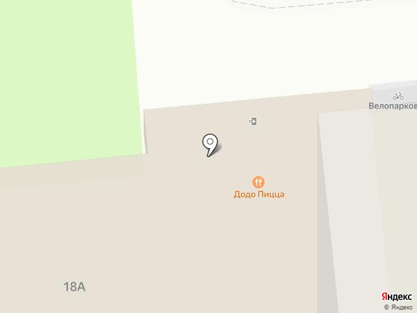 Орбита на карте Липецка