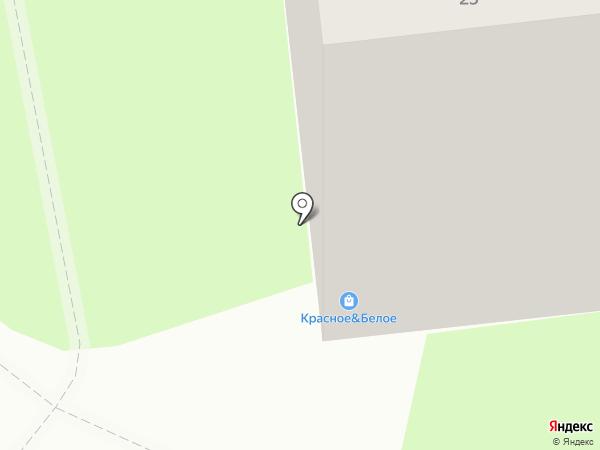 Ясные зори на карте Липецка