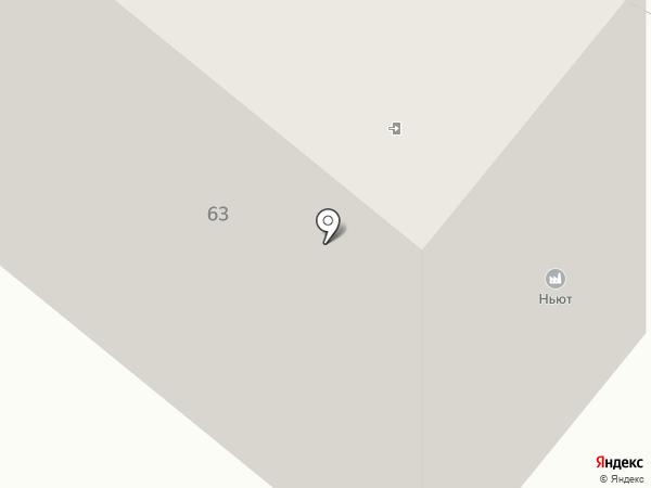 Ньют на карте Липецка