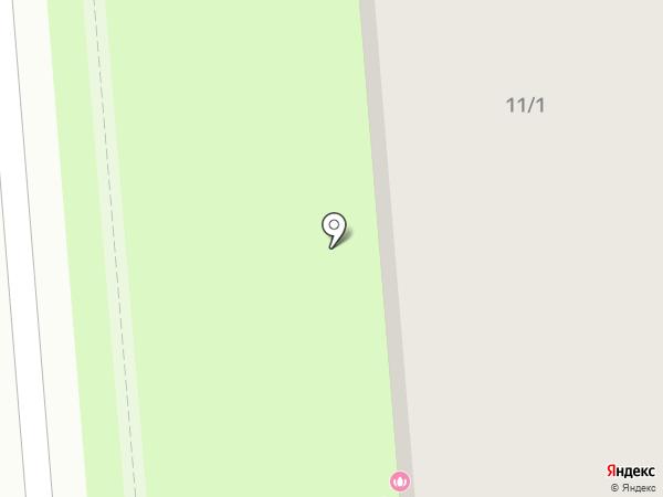 Эко сад на карте Липецка
