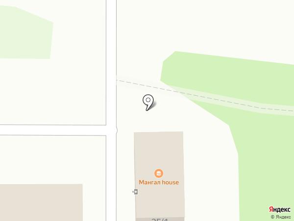 Мангал House на карте Липецка