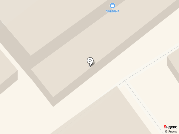 Милана на карте Липецка