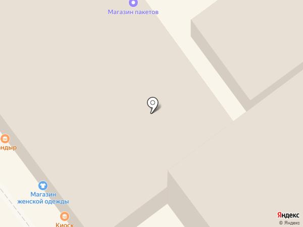 Магазин одежды на карте Липецка