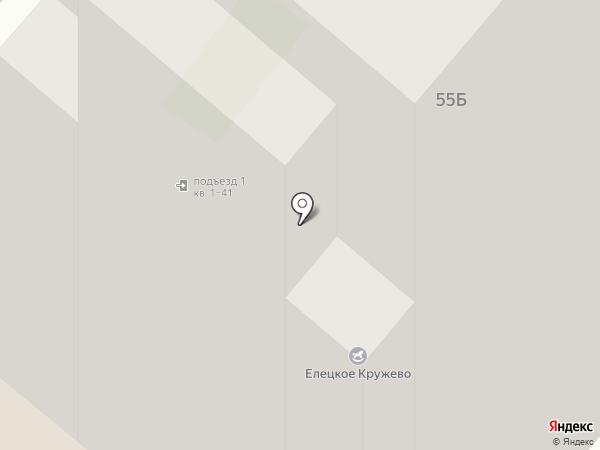 Файв старз на карте Липецка