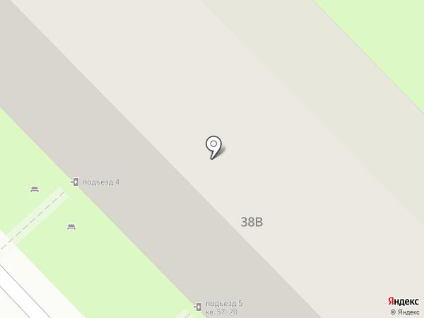 Меридиан на карте Липецка