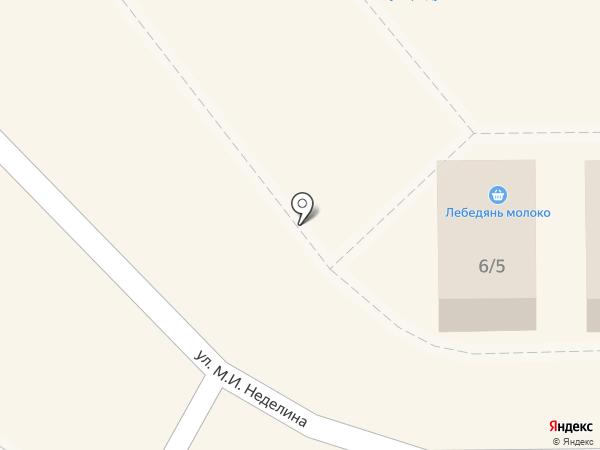 Липецкий бройлер на карте Липецка
