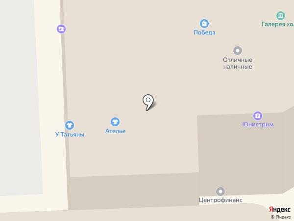 Анель на карте Липецка