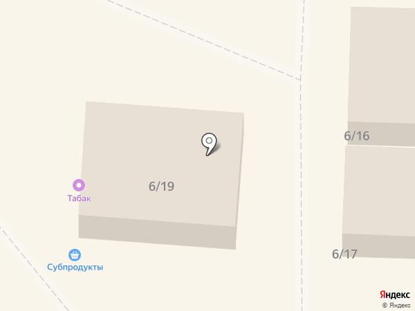 Липецкий продукт на карте Липецка