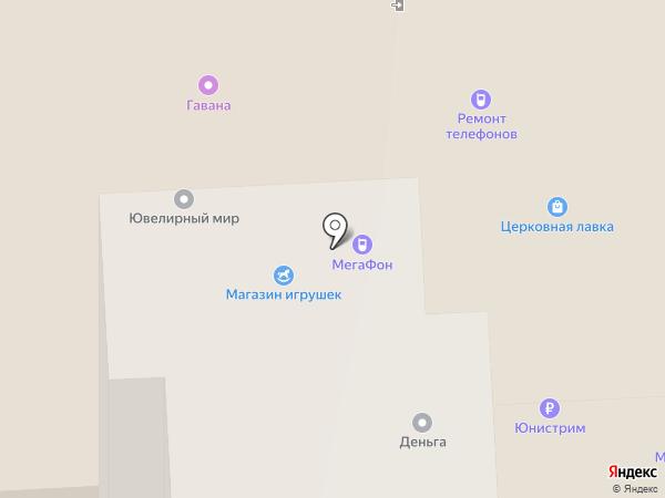 Браво на карте Липецка