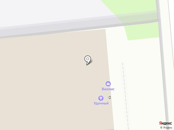 Авентерра на карте Липецка
